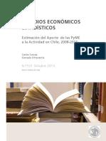 Estimacion Del Aporte de PyME-Chile