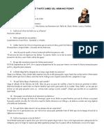 Cuestionario Hno Pedro