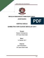 Kertas Kerja Hari Sukan Negara 2017