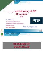 Slabs Beam Detailing