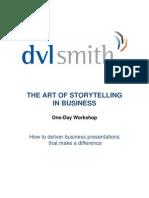 Storytelling Workshop Overview