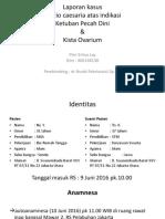 case KPD + CPD + kista ovari ppt