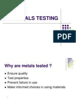 Materials Testing SELF