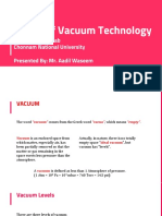 Basics of Vacuum Pumps