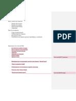 Pauta o Criterios de Evaluación Exposición y Trabajo