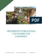 Informe Del Crecimiento Poblacional-economico Cajamarca