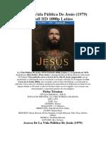 1979 La Vida Pública de Jesús