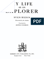 1925 My Life as an Explorer by Hedin