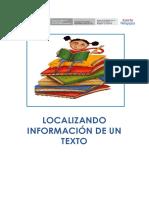 ESTRATEGIA Localiza Información Gallito de Las Rocas