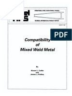 Compatibility of Mixed Weld Metal