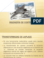 Ingeniería de control - Laplace