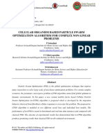 CELLULAR ORGANISM BASED PARTICLE SWARM OPTIMIZATION ALGORITHM FOR COMPLEX NON-LINEAR PROBLEMS.pdf
