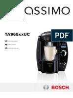 Bosch Tassimo TAS65xxUC instruction manual