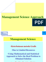 Management Science SNB