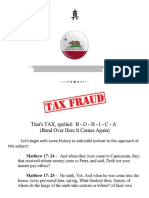 CA Sales Tax