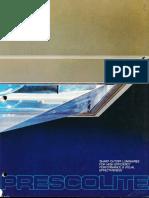 Prescolite Compact 80 Sharp Cutoff Luminaires Catalog 1978