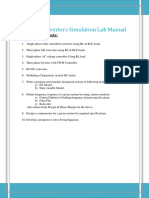 Power Converters Simulation Lab Manual-[2015-2016]