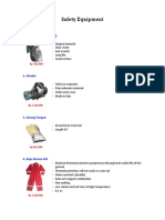 Safety Equipment Brosur dan Spesifikasi.pdf