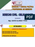 2. Civil IV Obligaciones - Presentación - 2017 - II Unidad