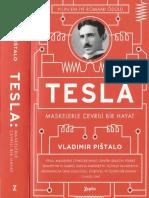 Vladimir Pistalo Tesla Maskelerle Çevrili Bir Hayat Zeplin Yayınları