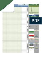 Painel de Estatistica e Controle Day Trade - PADRAO