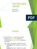 Linking Words and Discourse Markers