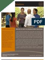 Grad Program Sheet-Intercultural Relations v2010-07b