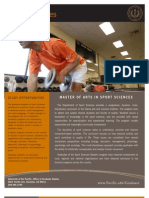 Grad Program Sheets-sport Sciences v2010-07b