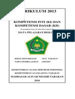 Cover KI KD Biologi MAN Tarakan 2016-2017.docx
