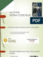 Aktivasi Code Blue