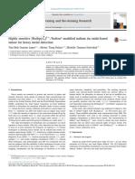 Highly sensitive [Ru(bpy)3]2+/Nafion® modified indium tin oxide-based sensor for heavy metal detection