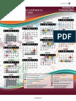 Calendar i o 1718 No Esc