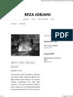 Why I Left the Alt-Right — Jason Reza Jorjani