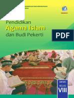 Kelas 08 SMP Pendidikan Agama Islam Dan Budi Pekerti Siswa 2017