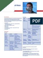 3m 6000 Series Half Mask Data Sheet