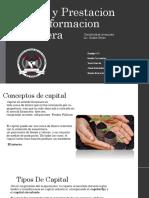 Capital y Prestacion de La Informacion Financiera