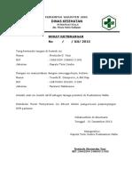 Surat Ket. Perawat 2012
