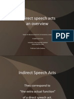 Indirect speech acts Franklin