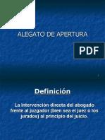 ALEGATO DE APERTURA