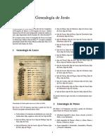 Genealogía de Jesús