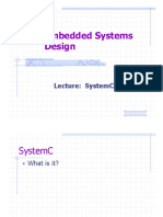 SystemC and Codesign Additional Lectures