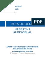 Guia 641012 Narrativa Audiovisual 17-18