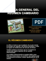 Teoría General Del Regimen Cambiario
