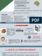 1. Como Buscar Literatura Médica. Criterios a La Hora de Seleccionar Las Revistas
