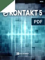 KONTAKT 5 6 8 Manual English