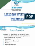 Learn Future Tense
