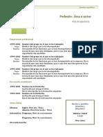 Curriculum Vitae Modelo1 Verde