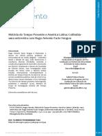 História do Tempo Presente e América Latina