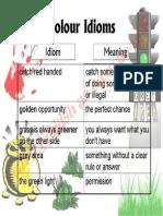 Colour Idioms PDF