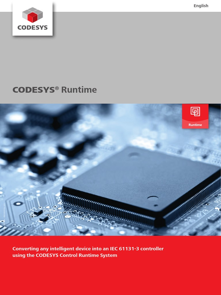CODESYS Runtime En | Operating System | Runtime System